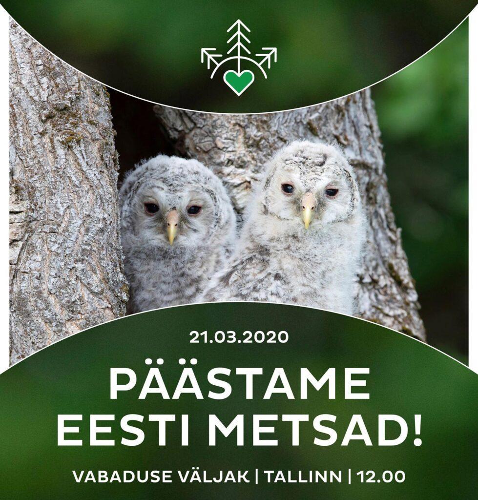 metsa kaitse meeleavaldus eesti mets
